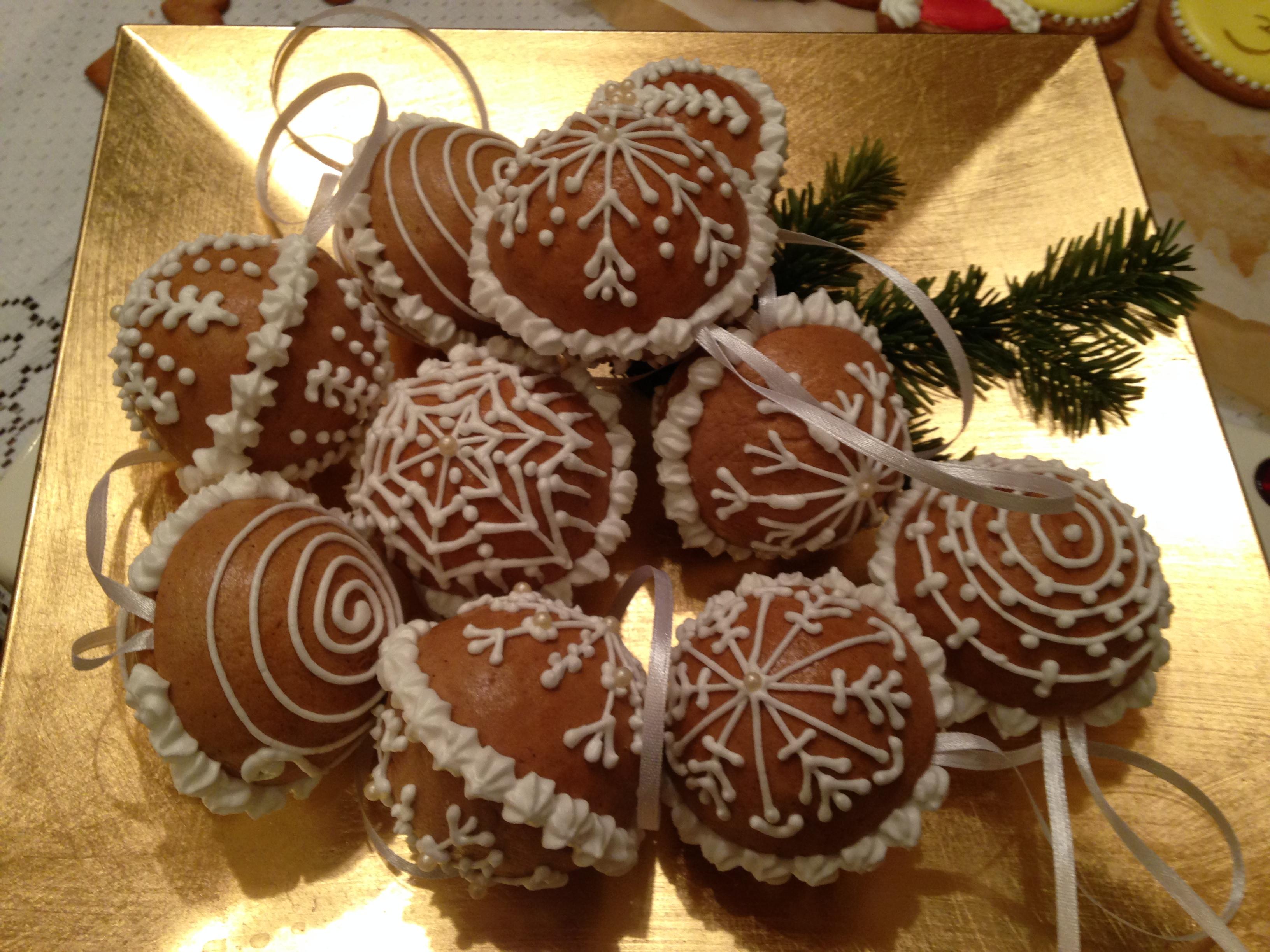 Mézeskalács karácsonyfadísz